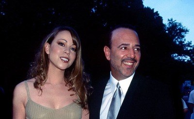 Married couple musician Mariah Carey and music executive Tommy Mottola are attending an event in Central Park, New York.