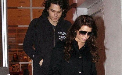 The paparazzi are spotting John Mayer and Jessica Simpson exiting a restaurant